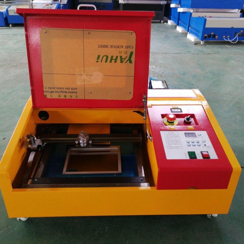 50 واط CO2 ماكينة الحفر بالليزر آلة قطع USB ميناء الليزر ماكينة قطع الخشب/الاكريليك