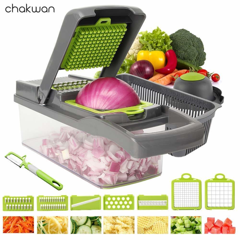 7 в 1 многофункциональная овощерезка для пищевых продуктов, овощерезка, овощерезка, измельчитель, резак для моркови, терка для сыра, кухня