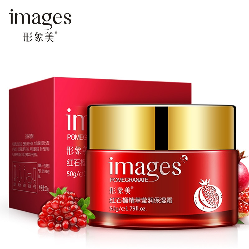 One Spring Red pomegranate day cream whitening Face Cream Hydrating Nourishing Skin Care Tender and Smooth cream anti aging