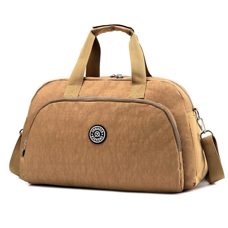 Nuevo Producto, venta al por mayor, bolso de viaje de hombro de nylon impermeable informal de moda #8626