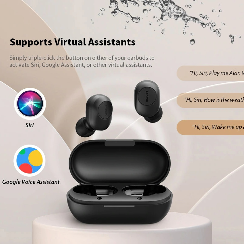 High Quality Lenovo GT2 Bluetooth 5.0 Earphones True Wireless Stereo Earbuds 15 Hours Battery Life enlarge