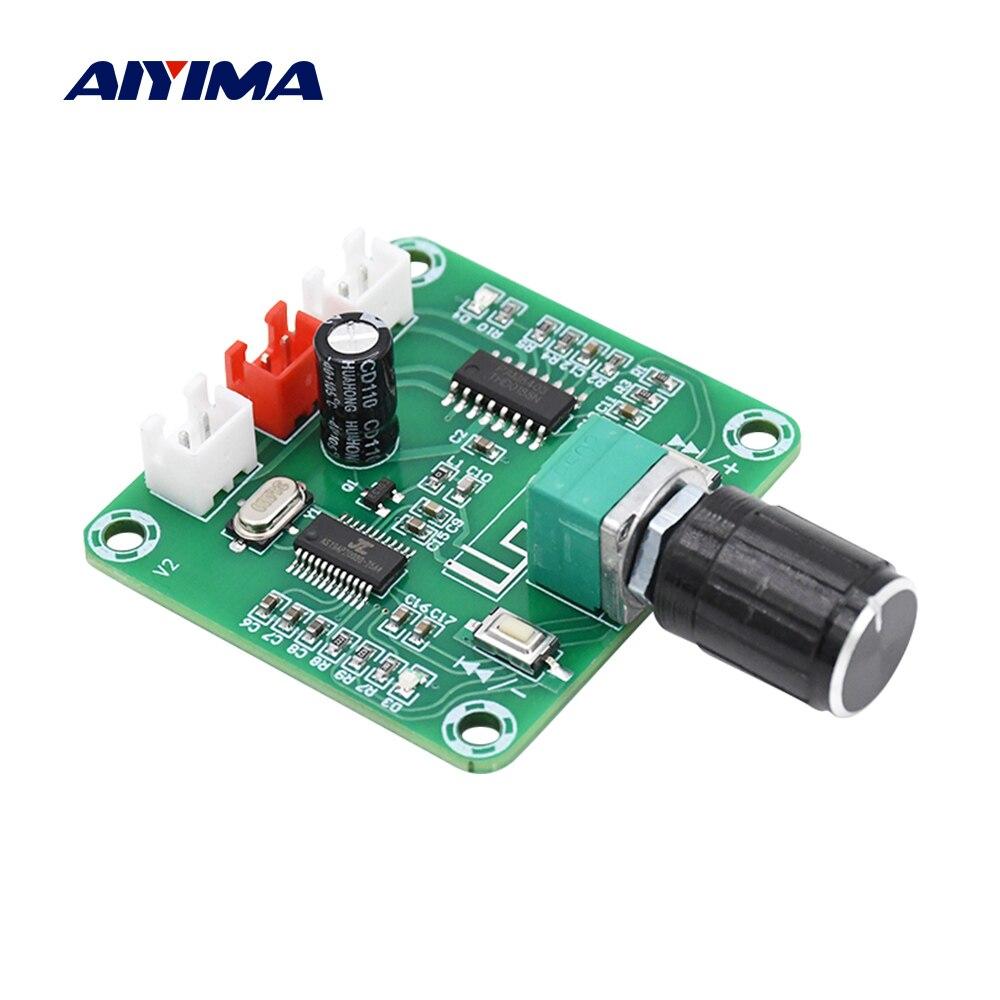 AIYIMA PAM8403 Bluetooth 5,0 Amplificador de potencia Audio Board 5Wx2 estéreo Amp 2,0 Mini Amplificador de altavoz inalámbrico DIY