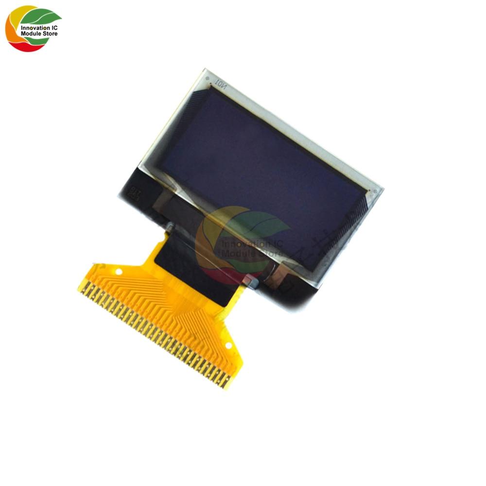 """Ziqqucu 0,96 \""""128x64 OLED ЖК-дисплей Дисплей модуль SSD1306 30 Pin 12864 плата с ЖК-экраном пассивный Матрица для Arduino 3 Цвета в наличии"""