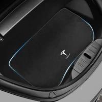 direct car trunk mat dustproof odorless washable heavy duty all weather flexibility customized for tesla model 3 2017 2021