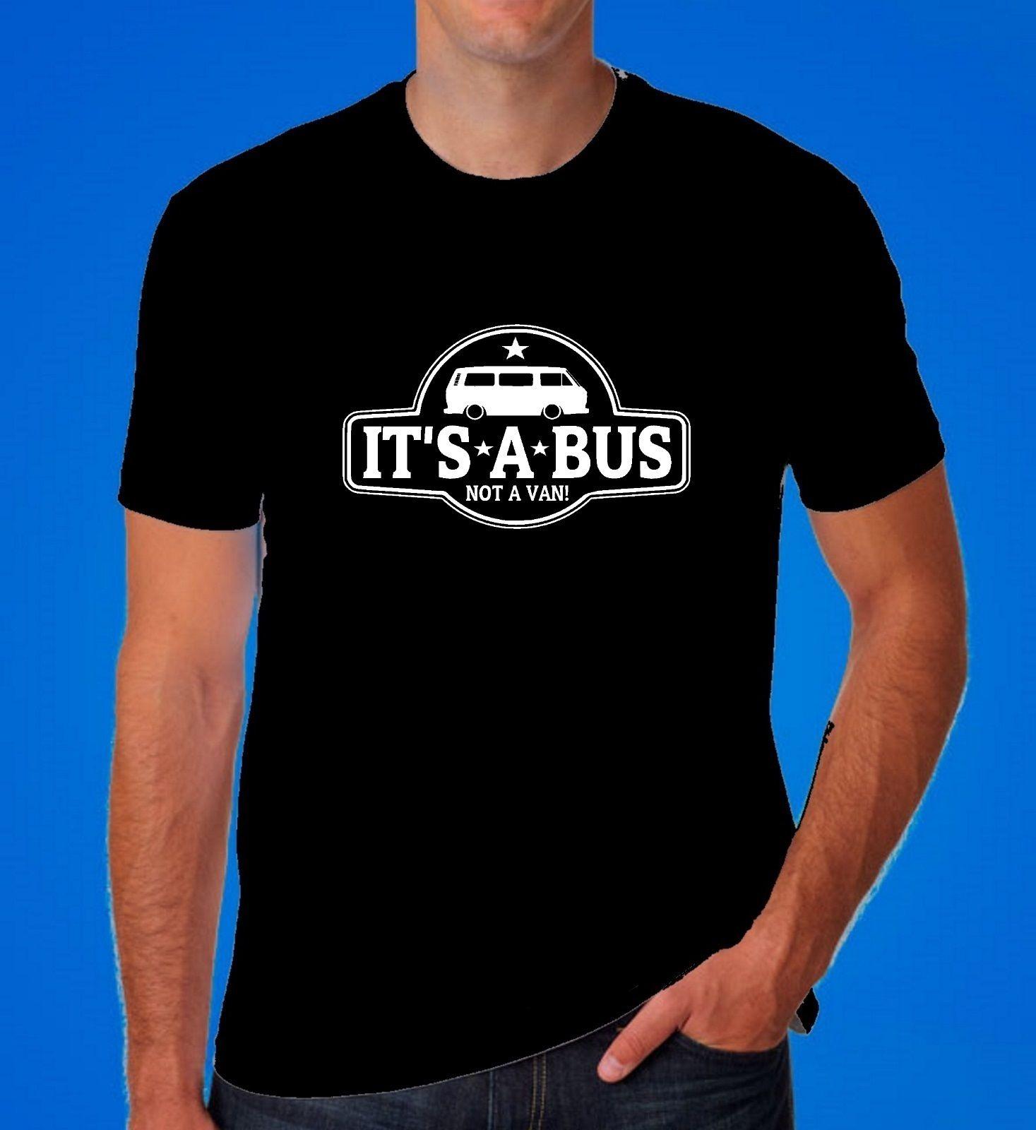 Camisetas de alta calidad de Alemania, Camiseta clásica T3 T25 Dad Dub Bus, camiseta Retro de surfista con cuello redondo para adolescentes