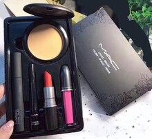 Macing maquillage professionnel Sexy ensemble limité multi-fonction mat rouge à lèvres mat brillant à lèvres brillant à lèvres 1 ensemble