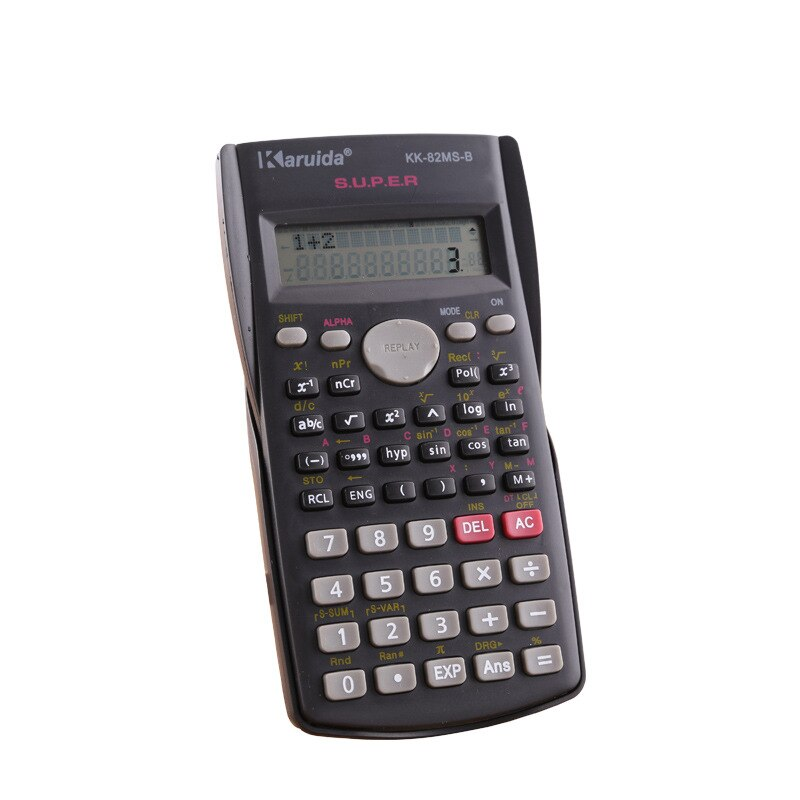 991es plus scientific calculator dual power with 417 function calculadora cientifica as gift 8 different languages specification 82ms scientific function calculator Mini multi-functional student financial accounting computer