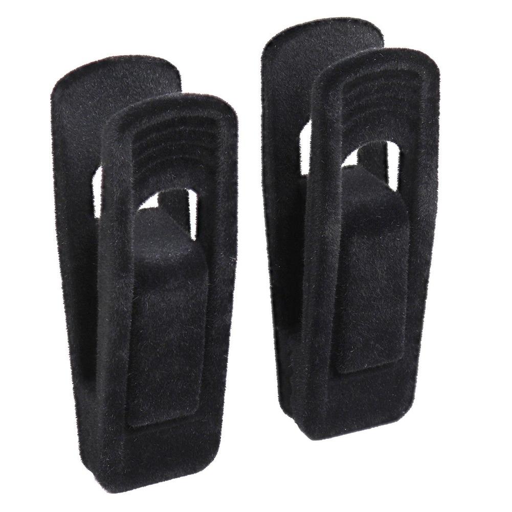20Pcs/set Non Slip Coat Hanger Artifical Velvet Flocked Drying Racks Beach Towel Clamp Windproof Durable Clothes Clip Trouser