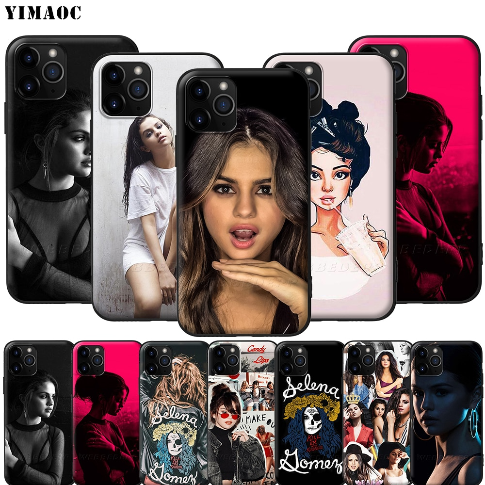YIMAOC Selena Gomez Silicone Soft Case for iPhone 11 Pro XS Max XR X 8 7 6 6S Plus 5 5S SE