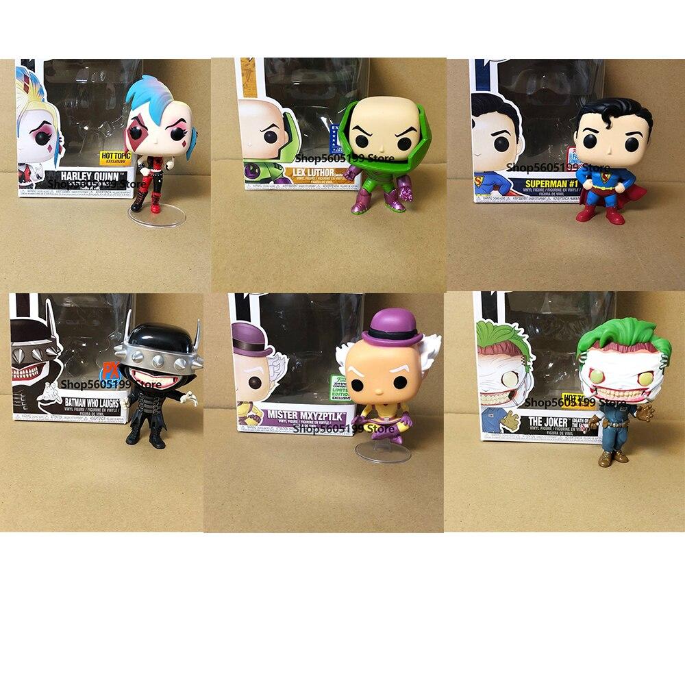 ¡Superhéroes de Lex COB! Figuras de acción de mister mxyzptlk con caja,...