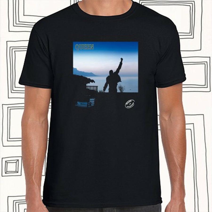 ¿Camiseta negra para hombre hecha en Heaven Rock Legend talla S M L Xl Xxl Xxxl suelta de talla grande? Camiseta