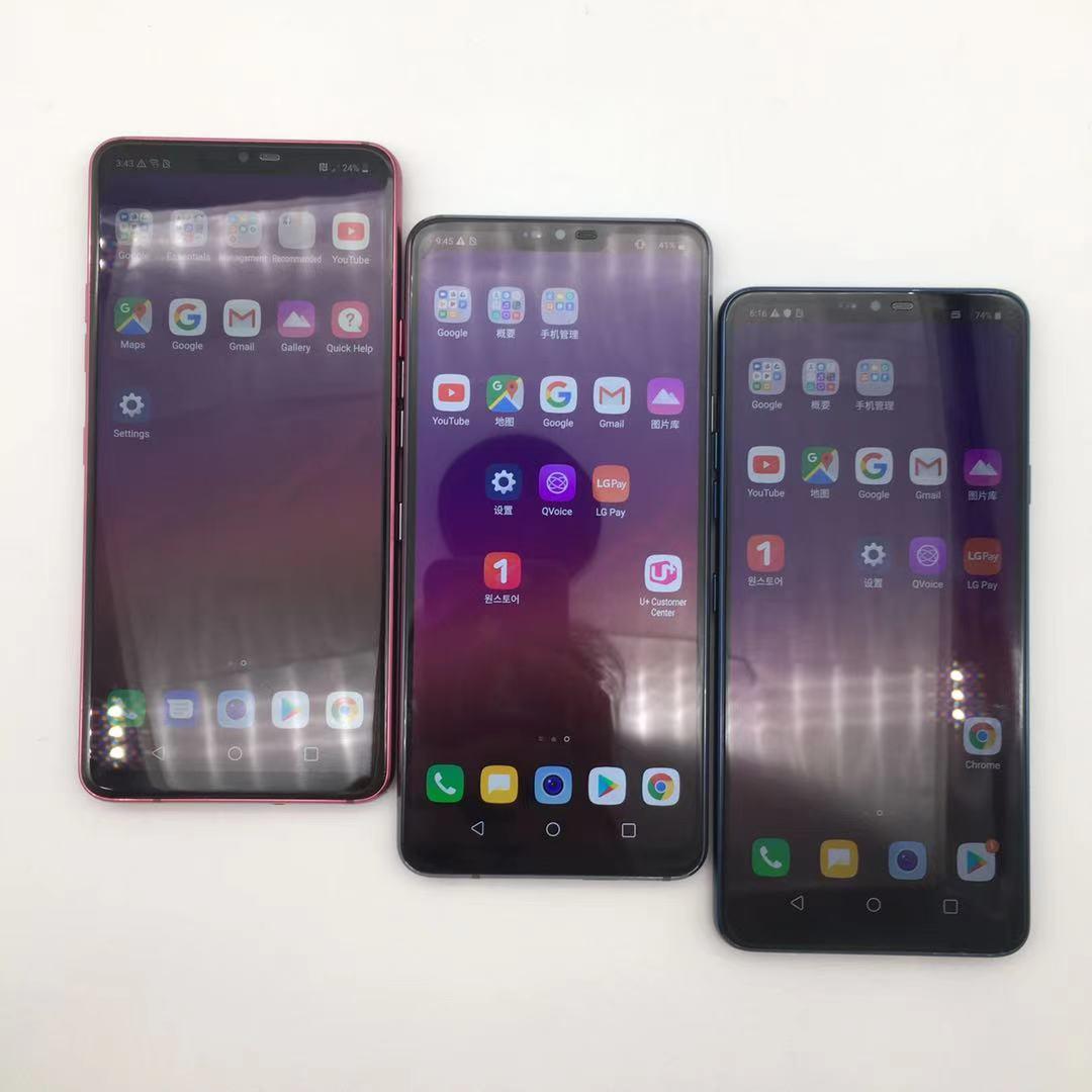 Фото1 - LG G7 ThinQ Восстановленный-оригинальный G710N G710VM 64 Гб/128 Гб 4G Snapdragon 845 LTE Android Восьмиядерный тыловая Камера Двойная 16 МП 6,1 дюйм. телефон