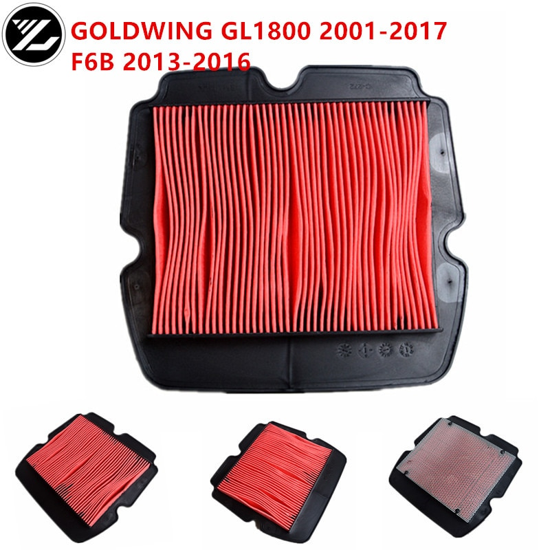 Accesorios para motocicleta, filtro de aire de eliminación, filtro limpiador para Honda GOLDWING 1800 GL1800 2001-2017 F6B 2013-2016