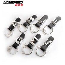Porte-clés en cuir et métal Mercedes Benz   Porte-clé de lettre de voiture pour Benz A B C D E G M S GL SL ML 3D