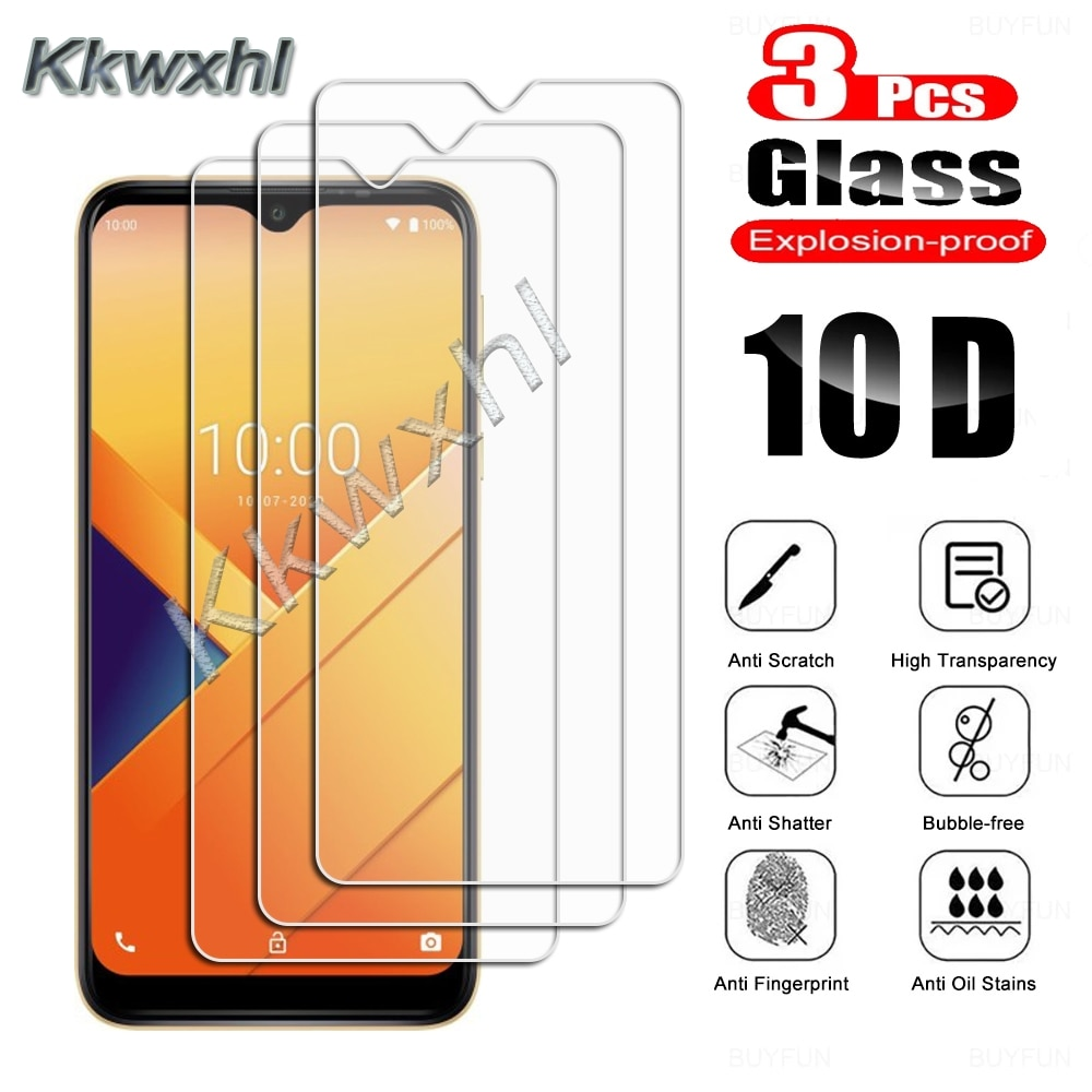3PCS Tempered Glass For Wiko Power U10 U20 U30 Y62 View4 Lite View5 Plus Y51 Y61 Y81 View3 Pro Prote