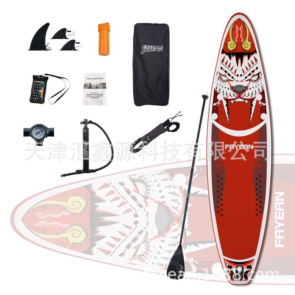 Paddle Board Paddle Board Water Ski Inflatable Surfboard Kickboard SUP Racing Surf Paddle Board