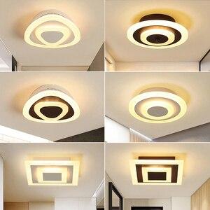 Modern LED Ceiling Lamp Corridor Lamp Bathroom Living Room Round Square Lighting Home Decoration Creative Bedroom Lighting