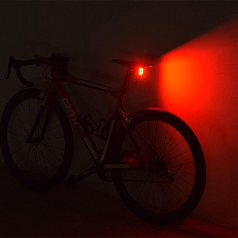 Luces traseras de bicicleta cubelitell, luces de freno con Sensor inteligente, luces traseras de bicicleta de carretera USB, luces LED diurnas