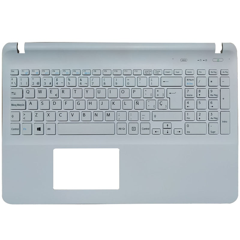 Испанская клавиатура для ноутбука sony Vaio SVF15 FIT15 SVF151 SVF152 SVF153 SVF1541 SVF15E SP Клавиатура с подставкой