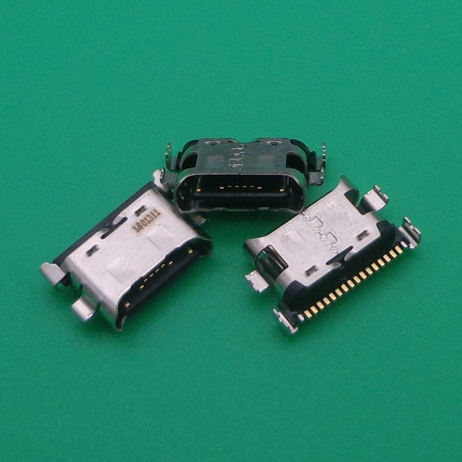 100 unids/lote para Huawei Honor 20 Lite / NOVA 6SE 7i / P40 Lite conector de puerto de carga USB a Jack hembra macho Dock
