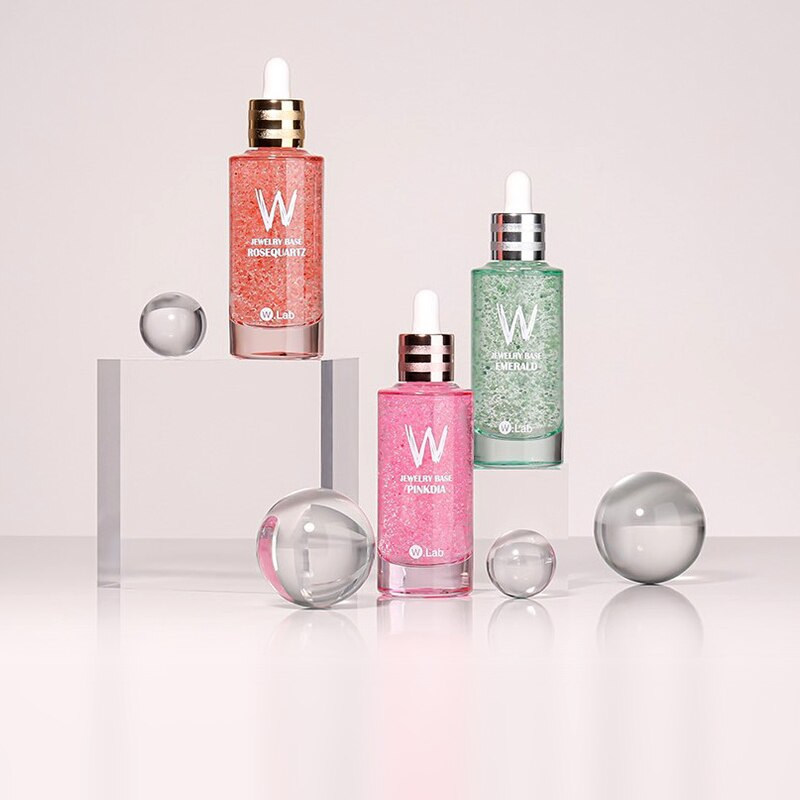 Transparent Sphere Cosmetics Jewelry Products Commercial Shooting Creative Props Still Life Photogra