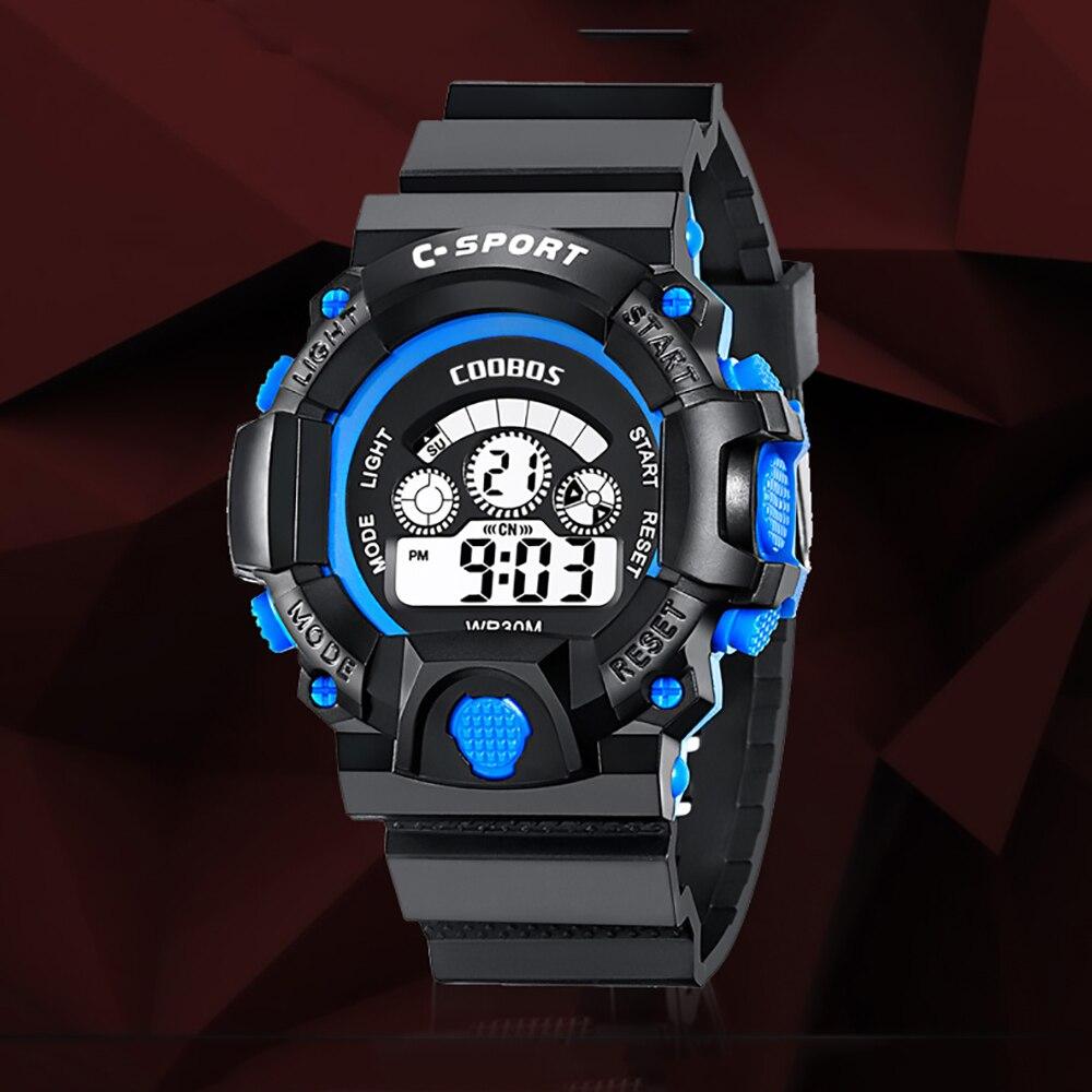 montre Kids Watches 2021 LED Electronic Digital Outdoor G Waterproof Shock Teen Boy Wrist Watch Clock Gift Montre Enfant Reloj Montre