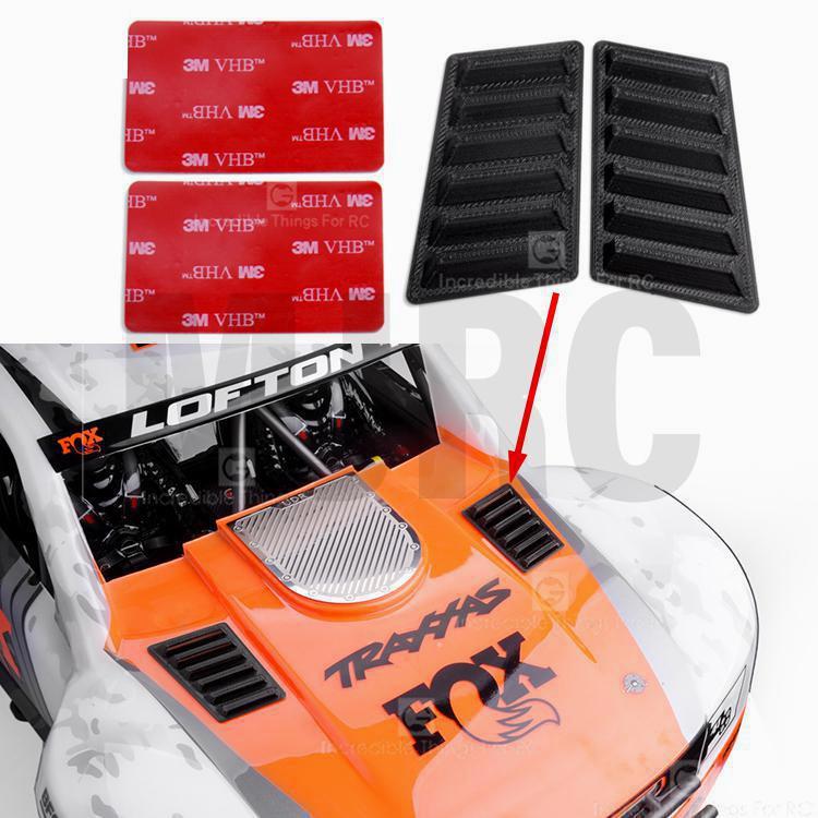 TRAXXAS Unlimited Desert Racer 1/7 UDR задний прямой мост бесщеточный короткий картон 85076-4 впускная решетка декоративный выхлоп