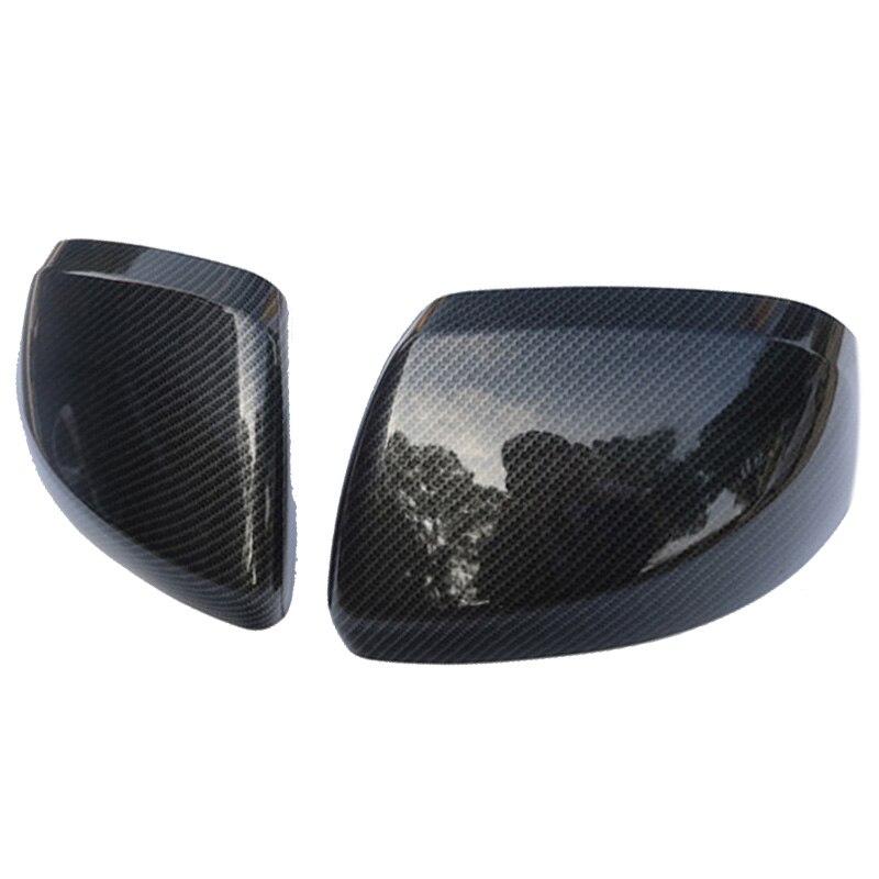 Carbon Fiber Color Door Mirror Cover Rear View Overlay 2014-2018 for Mercedes Benz Vito Valente Metris W447 Car Accessories