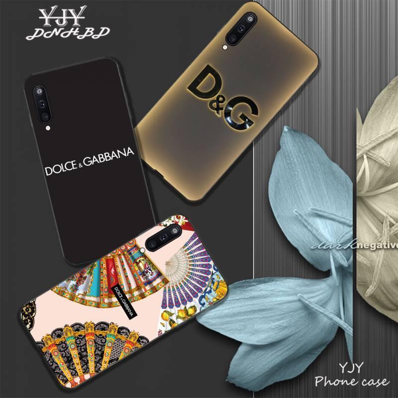 DG YJYDNHBD TPU macio tampa da caixa preta para Samsung galaxy A01 A10 A31 A51 A71 A91 A10S A30S m20 coque