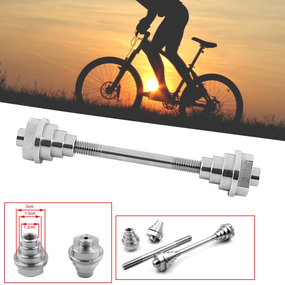 Bicycle Adjustment Table Adapter Tool Front Wheel Barrel Shaft Hub 12/15/20mm Tube Tool Bar