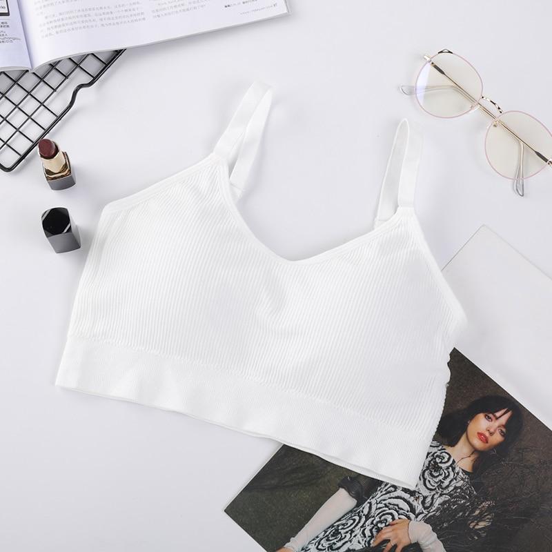 Sostén deportivo de Mujer, ropa Interior, Camiseta sin mangas, elástica, transpirable, para...