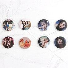 5cm Kpop Blackpink nouvel Album 2020 accueillant COLLECTION Badge à épingles Album broches broche accessoires pour vêtements chapeau sac à dos Decorat