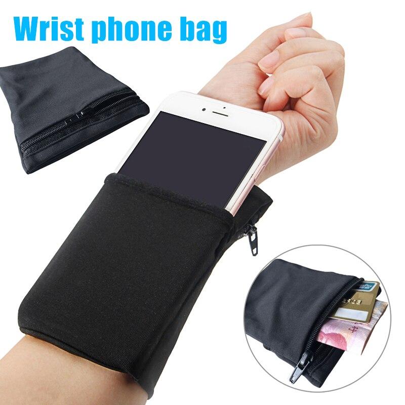 Esporte pulso bolsa de bolso correndo ginásio saco carteira para ciclismo cartões do telefone móvel ud88