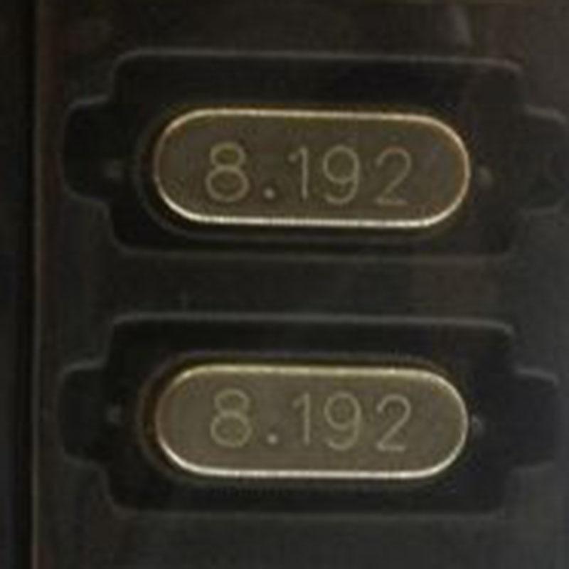 20 pçs/lote 8.192MHZ 8.192M 8.192 HC-49S SOP-2