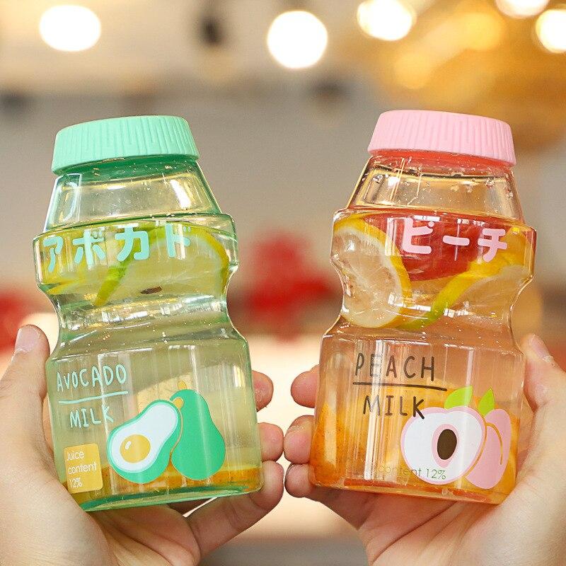 Посуда для напитков, бутылка для воды, Красивая пластиковая бутылка для девочек, студенток, детей, высокая красота, индивидуальная сетчатая ...