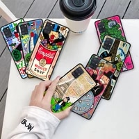 cartoon dollar monopolys capa for samsung galaxy a51 a71 a12 a21s a31 a52 a41 a02s a32 5g a11 black silicone phone case cover