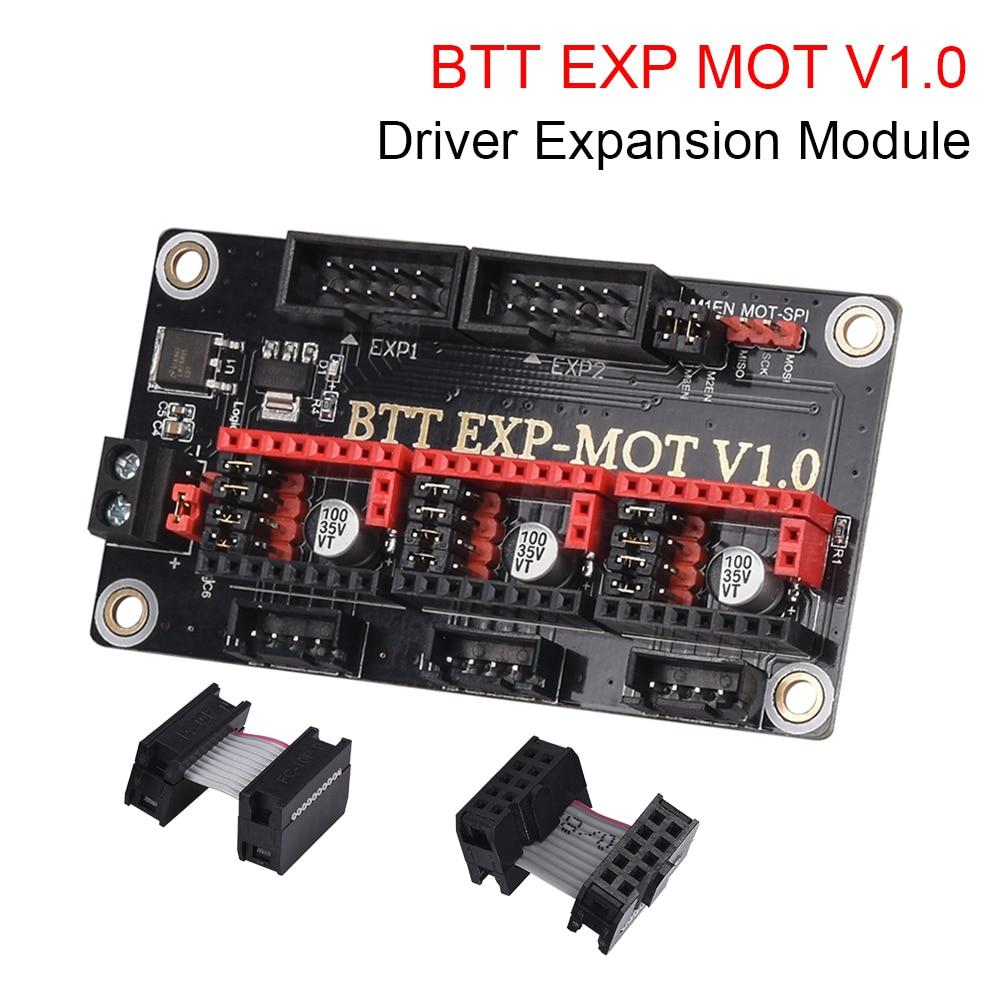 BIGTREETECH EXP MOT V1.0 Driver Expansion Module 3D Printer Parts For SKR V1.4 Turbo SKR PRO TMC2209 TMC2208 Ender 3