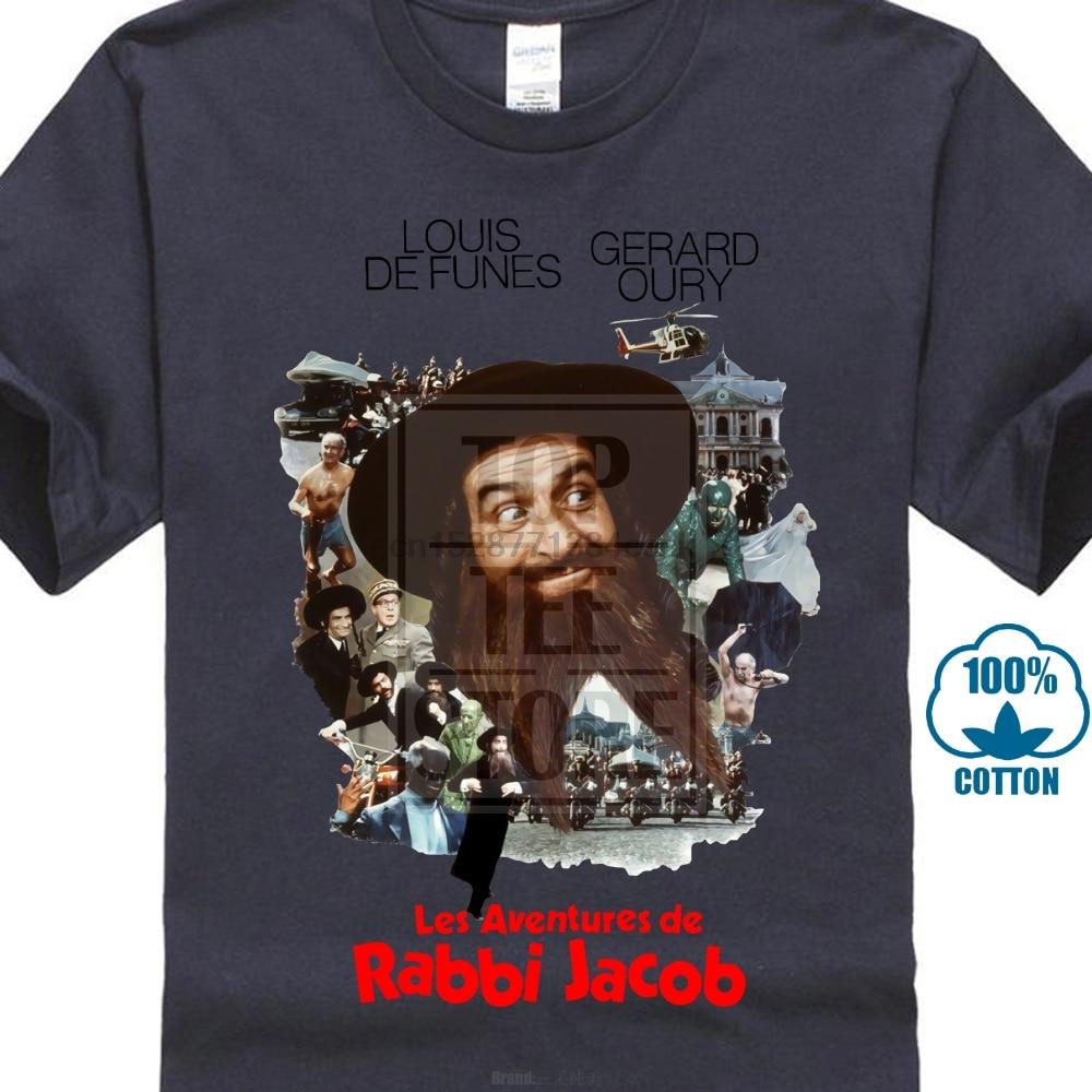 Les Aventures de Rabbi Jacob Ver 1 Camiseta Todos Os Tamanhos S 4Xl Louis De Funes