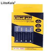 LiitoKala Lii-L16340 3.6V 3.7V 4.2V 16340 Rechargeable Li-ion chargeur de batterie
