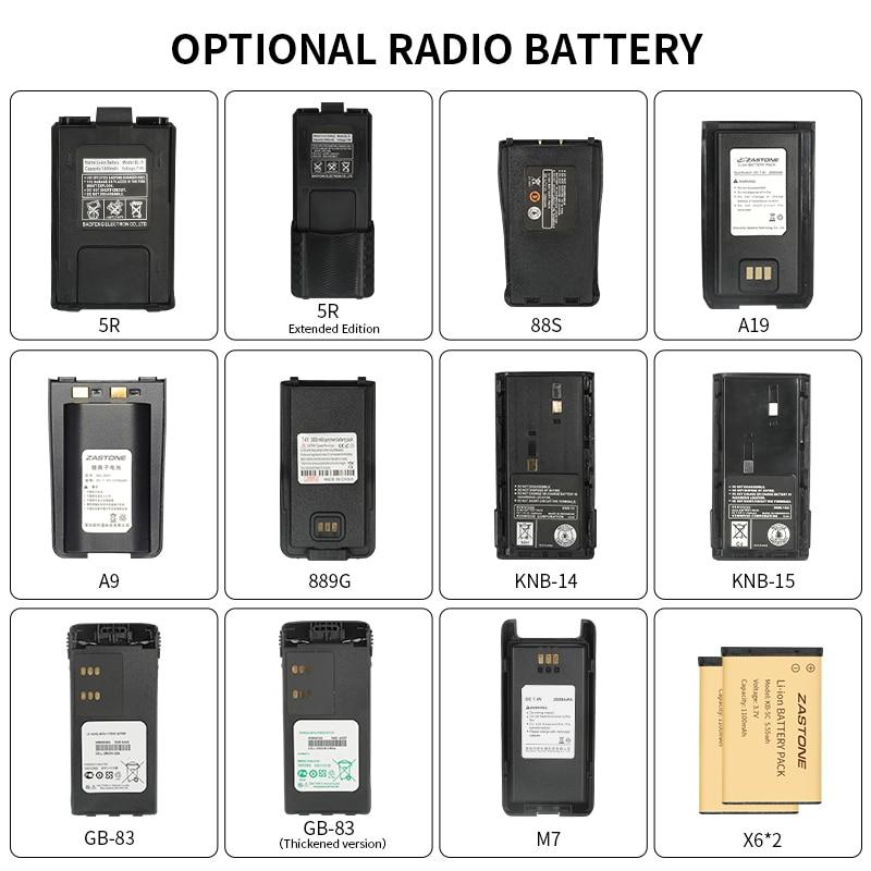 Различные типы батарей для рации 5R 3107 GP328 M7, специальная батарея для рации, аккумулятор на заказ