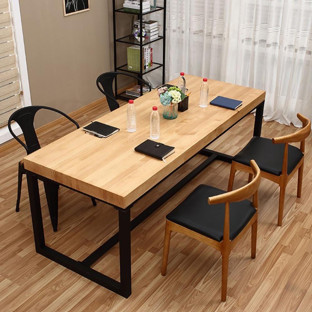 Mesa de mesa de mesa de mesa de mesa de mesa de mesa de mesa de mesa de escritório de madeira maciça