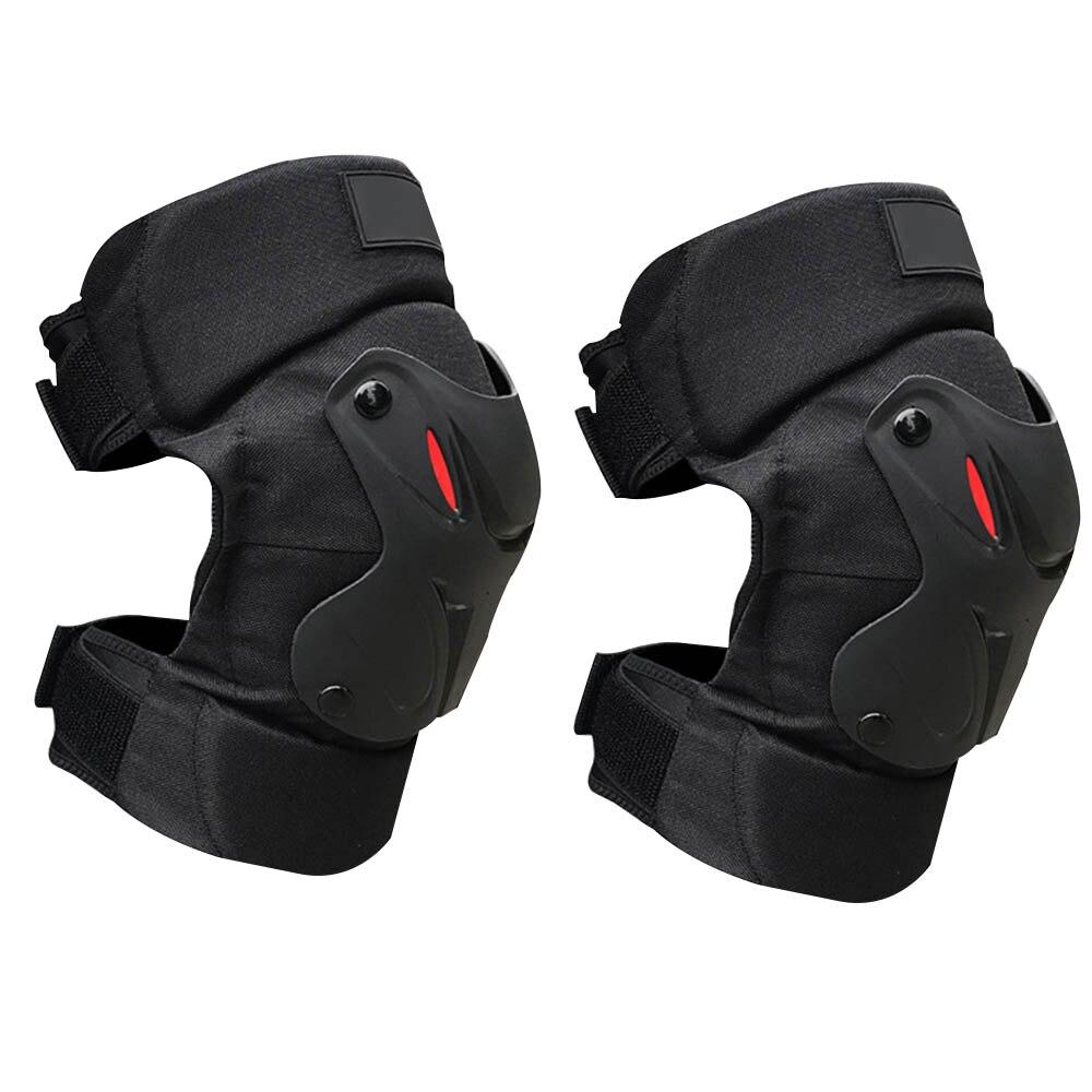 Наколенник для мотоцикла, защита для горных лыж, защитное снаряжение, наколенник, бандаж на колено, инструмент для поддержки мотоцикла