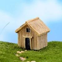 ZOCDOU     maison en bois classique  1 piece  maison en bois  construction de Village  confinement  resine  artisanat  figurine  ornement  miniature  DIY deco