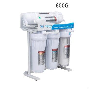 Sistema de filtro de ósmosis inversa 600 gpd Nivel 5, sistema de filtro para acuario, purificador de agua automático LEXPURE