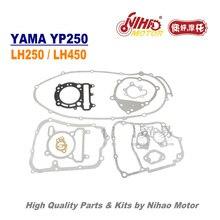 LINHAI-pièces de rechange moteur de moto   Jeu complet de joints, majesté 250, YP250 LH250 ATV QUAD chinois, moteur Nihao