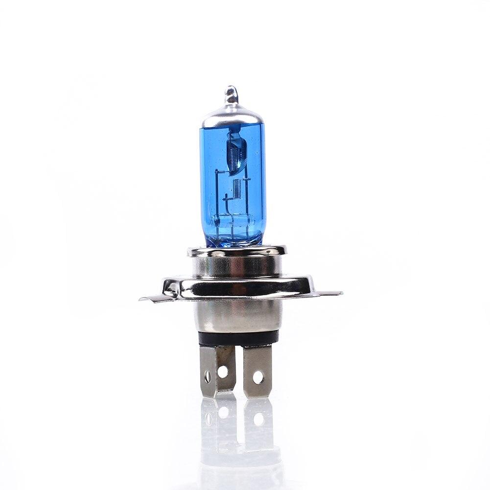 Bombilla halógena H4 bombillas halógenas de xenón duraderas Lámpara 2 uds 6000K 100W brillantes lámparas de faros de coche
