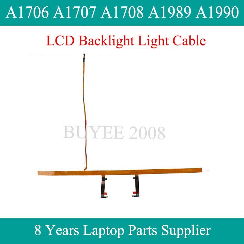 شاشة LCD أصلية لجهاز Macbook Pro Air A1706 A1707 A1708 A1989 A1990 ، شريط إضاءة خلفي ، كابل 2016 2017 2018