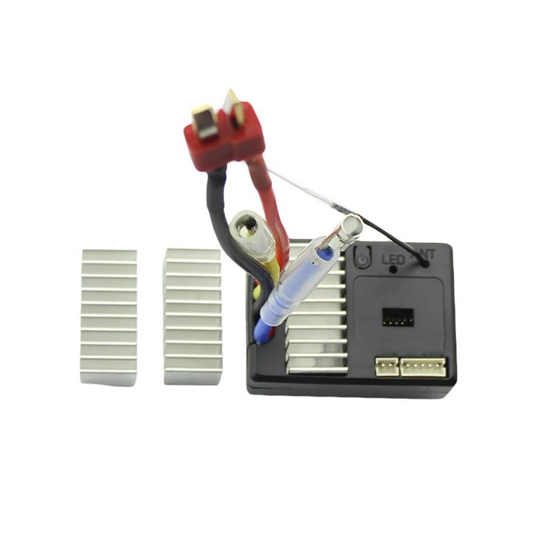 FBIL-for 144001 1/14 RC Car Spare Parts Receiver Receiving Board Circuit Board ESC Radiator Set 144001-1311 Car Accessori