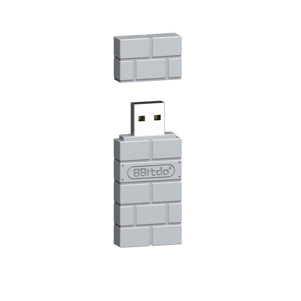 Adaptador Bluetooth inalámbrico 8BitDo USB para consola clásica PlayStation PS1 Mini controlador PS4