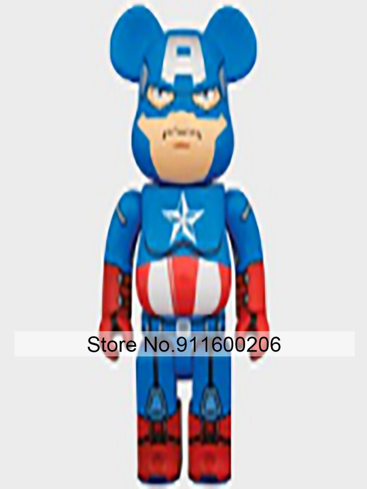 Bearbricklys 28cm 400% Bear&bricklys Toy Blocks Bear Toy Action Toy Figures Garage Kits Dolls Kids Toys